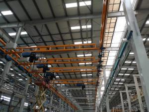 Quality Reliable indoor 1 Ton 3.2 Ton KBK Light Crane System for sale