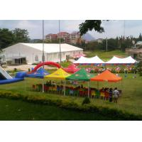 China Outside 4 Season Wedding Canopy Tent , Double Pvc Coated 1000 Person Tent on sale