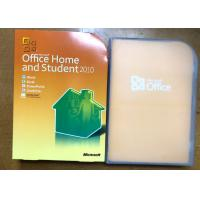 Quality 32 Bit / 64 Bit Software Key Code For Microsoft Office Home And Student 2010 for sale