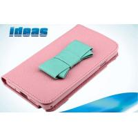 Buy cheap Butterfly Knot Pink Samsung Galaxy Leather Case TPU for Galaxy S4 from wholesalers