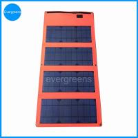 China 36W monocrystal foldable solar car battery charger on sale