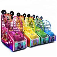Quality Arcade Mickey Basketball Shooting Game Machine Metal Cabinet Firm And Durable for sale