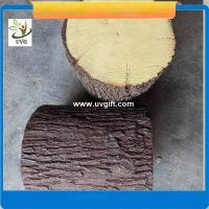 Best UVG realistic china fir stool model GRC fiberglass fake tree stump for park decoration CHR151 wholesale