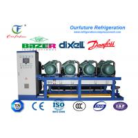 Meat Cold Room Compressor Unit Single Stage Energy Controlling System