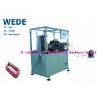 China Starter Flat Wire Forming Coil Winding Machine With Straightening Device on sale