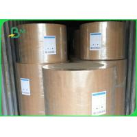 Eco Friendly Kraft Paper Jumbo Roll 120gsm Customized Size For Fast Food Wrapping