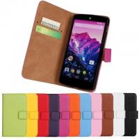 Best Google Nexus 5 LG nexus 5 Real Leather SmartPhone Cell Phone Protective Cases Wallet wholesale