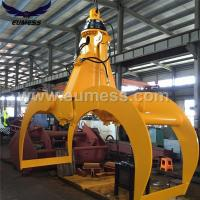 Quality Excavator Grab Attachment Peel Grab Bucket For Loading Logs 12T for sale