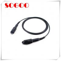 Buy cheap Outdoor Tactical Armoured Fibre Optic Cable CPRI FC / SC FTTA Waterproof from wholesalers