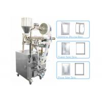 Quality 3 Or 4 Side Seal Bag Sachet Packing Machine Made Of Stainless Steel 2.2 Kw for sale
