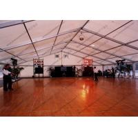 Buy Polygon Aluminum Frame Outdoor Event Tent , Outside Party Tents With Glass Door at wholesale prices