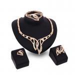 Quality Jewelry sets dubai custom jewelry set/kc gold big fashion jewelry set for sale