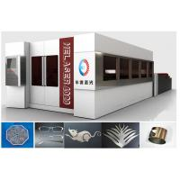 China Fully Enclosed Fiber Laser Cutting Machine , 2000W Laser Cutter Machines on sale