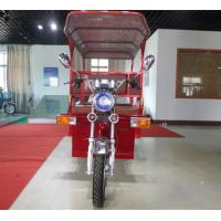 3 Wheel Electric Passenger Tricycle With Roof And Supporting Bar