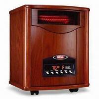 China Portable Quartz Infrared Heater with Efficient Heating, Pre-setting On/Off and Washable Pre-filter on sale