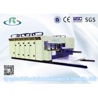 China High Speed 5 Series Automatic 6 Color Printing Slotting Die Cutting Machinery on sale