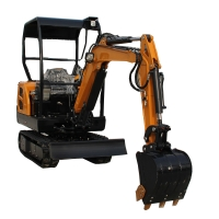 Quality small 2.0 ton hydraulic crawler digger mini excavator digging machine excavator for sale for sale