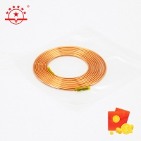 Quality HVAC OD 3.69MM 3m Length Capillary Joint Copper Pipe for sale