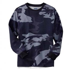 China men long sleeve blank camo t shirts on sale