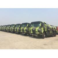 China 336HP HOWO Military Fuel Tanker Truck 16 - 25CBM Crude Oil Transportation Trucks on sale