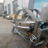 Vertical Automatic Wok Machine Stainless Steel Material High Efficiency