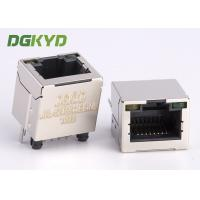 Quality Shield 180 Degree Vertical Entry Rj 45 Connector Modular Jack For Ethernet Cable for sale