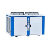 Quality R407 Box Type 2500kw Compact Water Cooled Water Chiller for sale