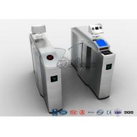 China Retractable Optical Turnstile Security Systems Electric For Airports Access on sale