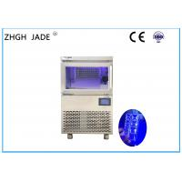 Quality Water Cooling Ice Maker Machine with LED Blue Light for bakery for sale