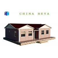 Quality Heat Preservation Prefab Residential Homes Prefab Eco House Easy To Assemble for sale