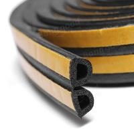 Quality sponge EPDM foam rubber sealing strip self adhesive backing car door window trim seals for sale