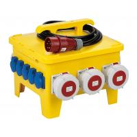 Quality Portable Temporary Power Distribution Center Polyethylene Strong Plastic Housing for sale