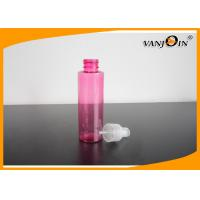 China Cylinder Round PET Small Plastic Bottles for Comestic Packaging Lotion Pump / Spray Pump on sale
