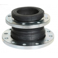 Quality Zinc Plated Single Sphere EPDM NBR Rubber Expansion Joint for sale