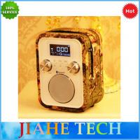 Quality NEW hand free call portable alarm clock radio with bluetooth speaker and  TF/AUX/USB for MP3 play for sale