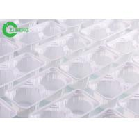China Reusable 4 Cups Plastic Cup Carrier Trays Durable Disposable For Coffee on sale