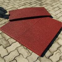 China Rubber playground safety surface , Playground rubber tile,playground pavement , EPDM rubber tile on sale
