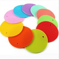 Best Silicone Table Heat Resistant Mat Cup Coffee Coaster Cushion Placemat Pad New wholesale