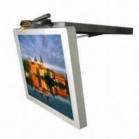 China 19-inch TFT LCD Bus Advertising Player with Wi-Fi Supports 1,080-pixel Video Resolution on sale