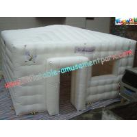 China PVC Coated Nylon Inflatable Party Tent , Inflatable Outdoor Tent Marquee on sale