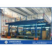 China Q235 Steel Shelving Rack Supported Mezzanine Platform System Easy To Install / Dismantle on sale