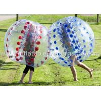 China Popular 1.5M Inflatable Human Soccer Ball Customized With Air Pump on sale