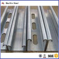 Quality Hot Selling Q195 Material Standard Sizes Structural Steel C Channel for sale