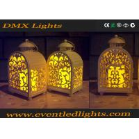 Best Yellow Wedding / Banquet Led Flameless Candles Decorative With Moving Flame wholesale