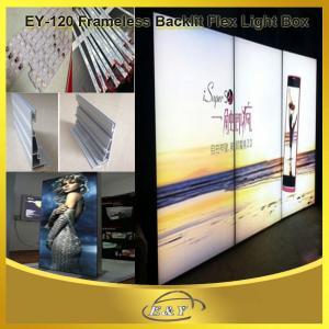 Best Big Size customize frameless led banner flex light box wholesale