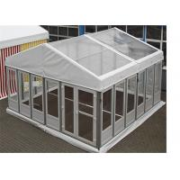 Quality Luxurious Clear Span Frams Structures Glass Wall Tents Shelter Pavilion for sale