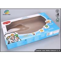 Quality Corrugated Recycled Paper Toy Packaging Boxes With Double Cmyk Printing for sale