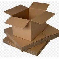 Quality Small Recycled Cardboard Storage Boxes With Lids UV Coating OEM Service for sale