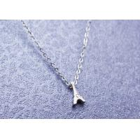 Quality Elegant Stainless Steel Pendant Necklace Dainty Eiffel Tower For Women for sale