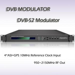 China DVB-S2 Modulator Digital TV headend equipment Standard of DVB-S2(EN302 307, 8PSK) and DVB-S(EN300 421, QPSK) on sale